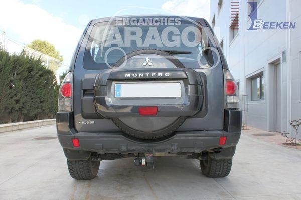 Anhängerkupplung Mitsubishi-Pajero Inform, 3-türig, Baujahr 2010-