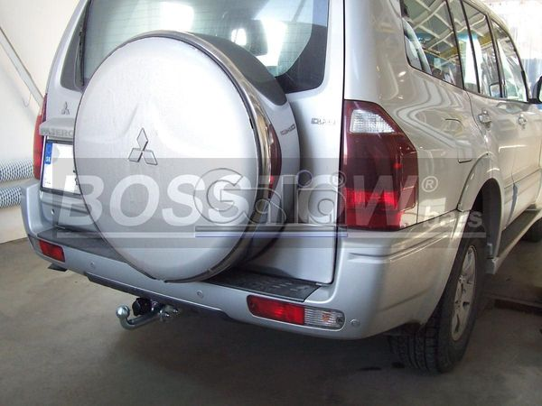Anhängerkupplung für Mitsubishi-Pajero - 2000-2002 V70 (langer Radstand) Ausf.:  feststehend