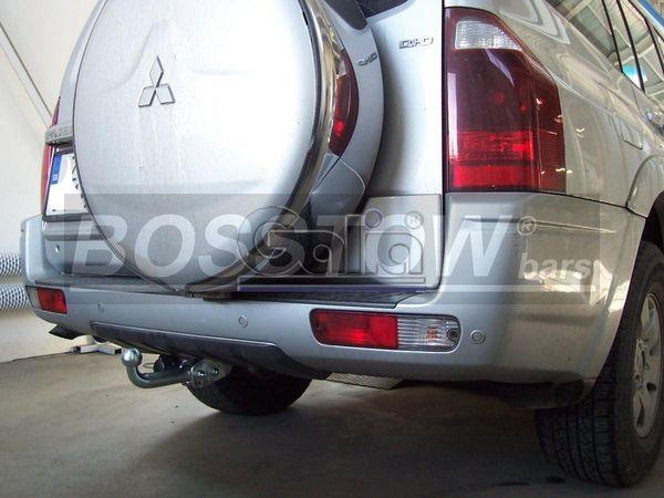 Anhängerkupplung für Mitsubishi-Pajero V60 (langer Radstand) - 2002-2006