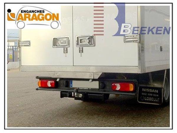 Anhängerkupplung für Nissan-Cabstar - 2000-2006 F23 Ausf.:  feststehend