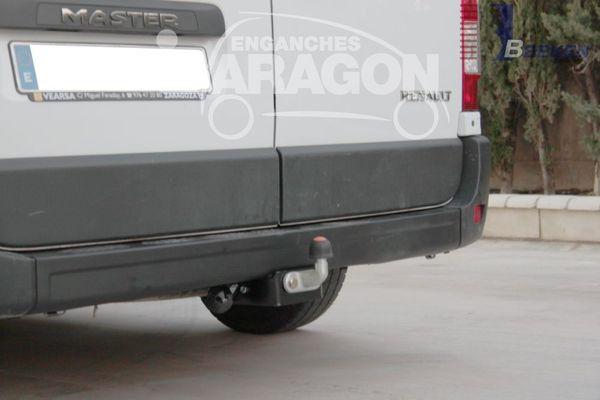 Anhängerkupplung VW-Crafter II 30-35, Kasten, Radstd. 3640mm, 4490mm, Fzg. ohne Trittbrettst., o. Vorbereitung, Baujahr 2017-