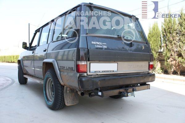 Anhängerkupplung Nissan-Patrol 160, 260, 743, Baujahr 1980-1987