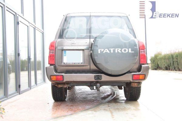 Anhängerkupplung für Nissan-Patrol - 2004- Typ Y 61 Ausf.:  feststehend