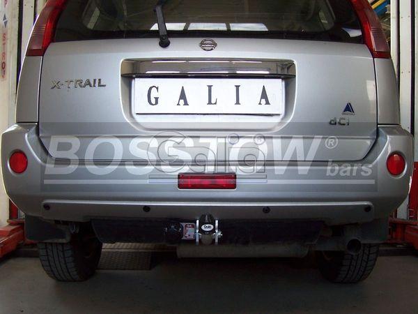 Anhängerkupplung für Nissan-X-Trail - 2002-2007 Ausf.:  feststehend