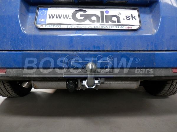 Anhängerkupplung Opel-Combo D, für Fzg. mit Erdgasbetrieb, Baujahr 2012-