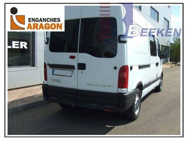 Anhängerkupplung für Opel-Movano - 2003-2006 Kasten, Bus, Kombi Ausf.:  feststehend