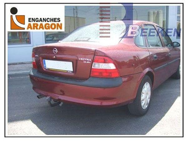Anhängerkupplung für Opel-Vectra - 1995-1998 B, Fließheck, nicht V6 Ausf.:  feststehend