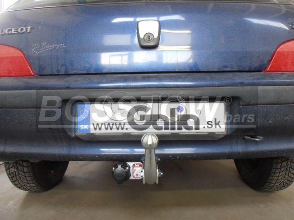 Anhängerkupplung für Peugeot-106 - 1996- Ausf.:  feststehend