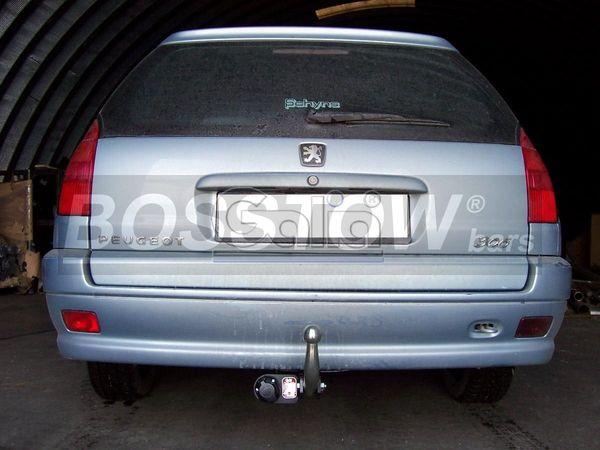 Anhängerkupplung für Peugeot-306 - 1997-2002 Kombi Ausf.:  feststehend