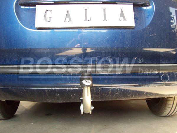 Anhängerkupplung für Peugeot-307 - 2005- Kombi, inkl. 7-Sitzer Ausf.:  feststehend
