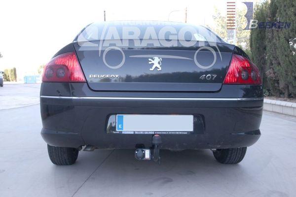Anhängerkupplung Peugeot-407 Limousine, Baujahr 2004-2006