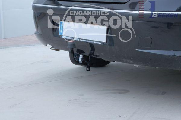 Anhängerkupplung Peugeot-407 Limousine, Baujahr 2004-2006 Ausf.:  feststehend