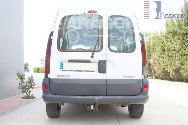 Anhängerkupplung Renault Kangoo I nur 4x4, Baureihe 1998-2002  feststehend