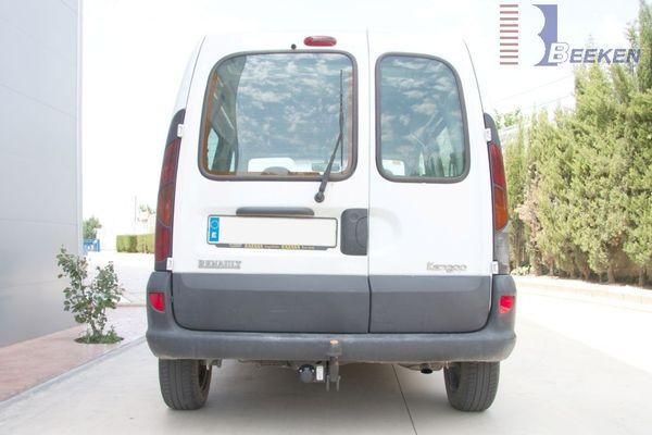 Anhängerkupplung Renault Kangoo I nur 4x4, Baureihe 2001-2002  feststehend