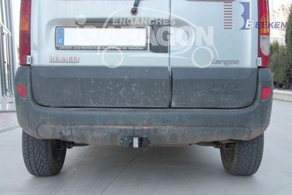 Anhängerkupplung für Renault-Kangoo I - 2002- nur 4x4 Ausf.:  feststehend