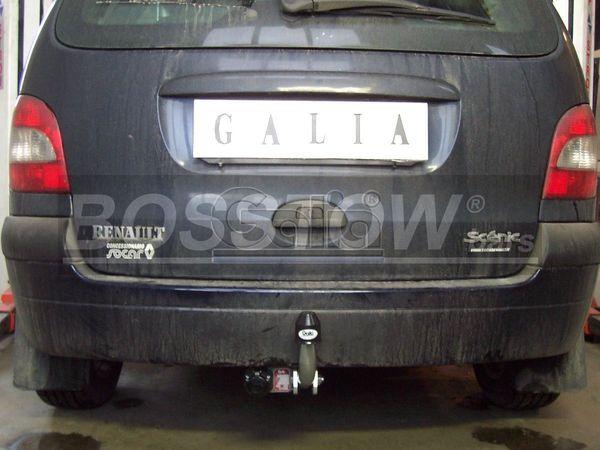 Anhängerkupplung Renault Scenic Scenic I, nicht 2. 0 16V, Baureihe 1997-1999  feststehend