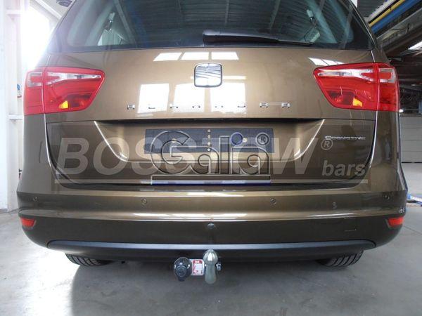 Anhängerkupplung für Seat-Alhambra - 2010-2013 incl 4x4 Ausf.:  feststehend