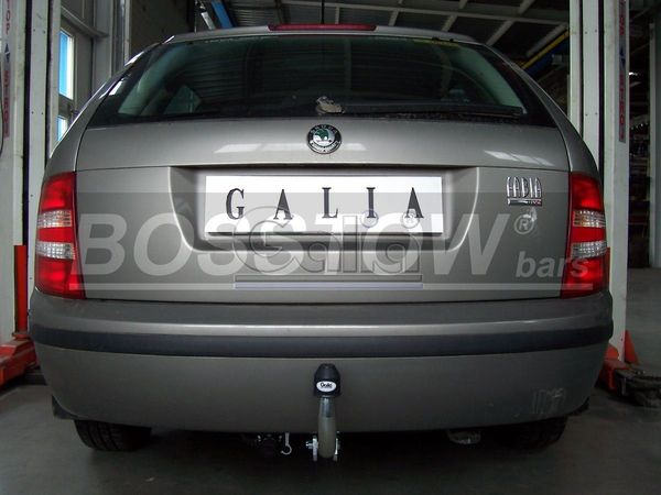 Anhängerkupplung Skoda Fabia Limousine, nicht GT, Baureihe 2001-2007  feststehend