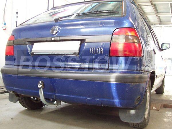 Anhängerkupplung für Skoda-Felicia - 1995-2001 Fließheck Ausf.:  feststehend