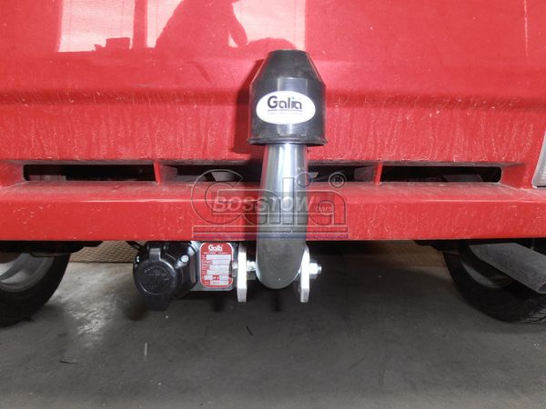 Anhängerkupplung Suzuki Ignis 4 WD, Baureihe 2004-2007  feststehend