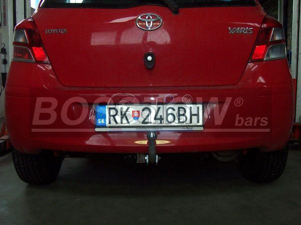 Anhängerkupplung für Toyota-Yaris - 2009-2011 Fließheck, nicht Hybrid Ausf.:  feststehend