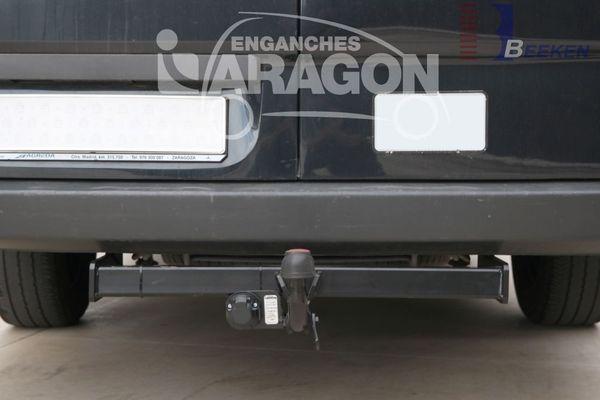 Anhängerkupplung für VW-Crafter - 2006-2017 46, Kasten, Radstd. 4325mm, Fzg. ohne Trittbrettst. Ausf.:  feststehend