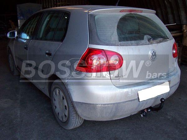 Anhängerkupplung VW-Golf V, Limousine, nicht 4x4, Baureihe 2003- Ausf.:  feststehend
