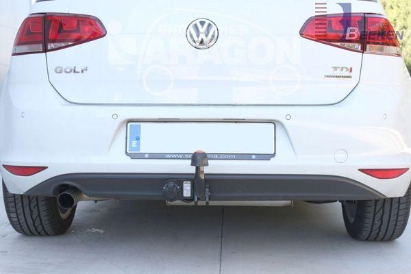Anhängerkupplung VW-Golf VII Limousine, nicht 4x4, Baujahr 2017-
