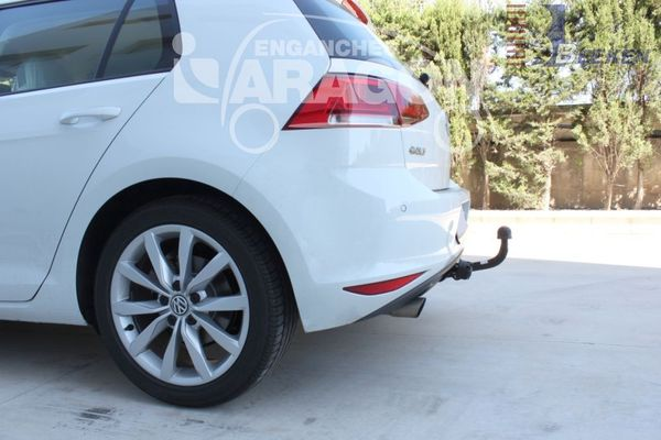 Anhängerkupplung für VW-Golf VII Sportsvan, Baujahr 2013-2018