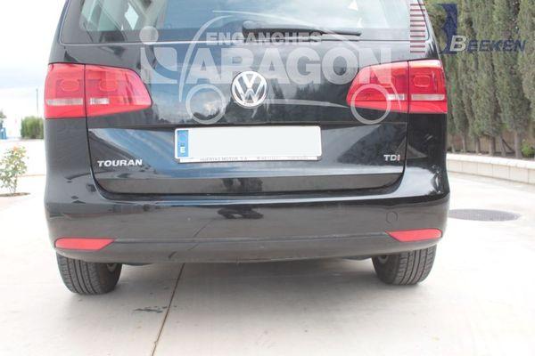 Anhängerkupplung VW-Touran Van, spez. 7 Sitzer m. Erdgas(Ecofuel), Baujahr 2010-2015