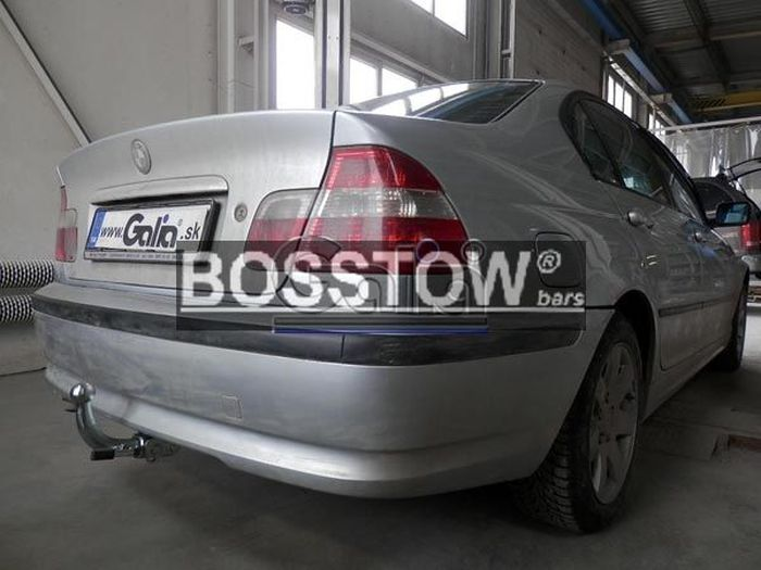 Anhängerkupplung für BMW-3er - 1999- Coupe E46 nicht M- Paket Ausf.:  horizontal