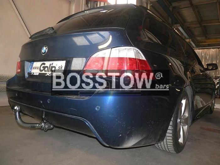 Anhängerkupplung für BMW-5er - 2007- Limousine E60 Ausf.:  horizontal