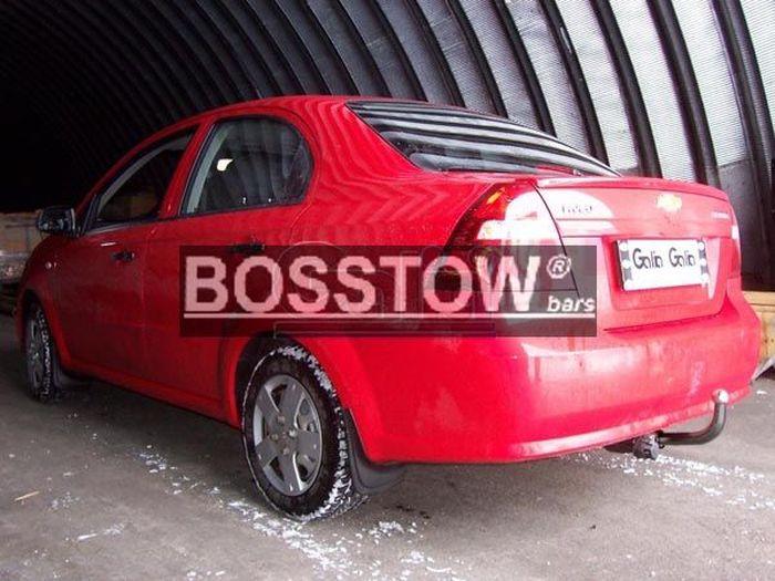 Anhängerkupplung für Chevrolet-Kalos Limousine 4trg., Baujahr 2002-2006
