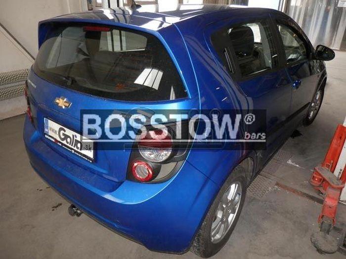 Anhängerkupplung für Chevrolet-Aveo - 2011- Fließheck Ausf.:  horizontal