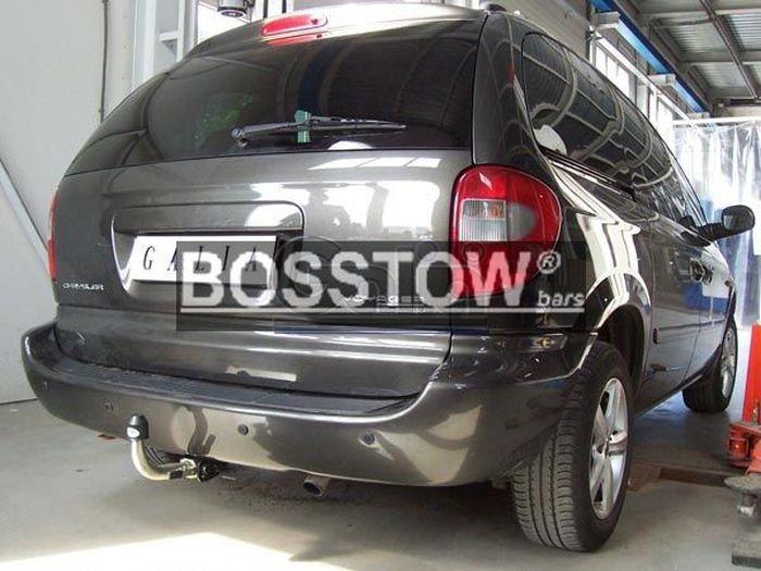 Anhängerkupplung für Chrysler-Voyager - 2001-2008 Ausf.:  horizontal