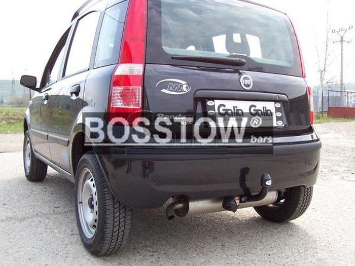 Anhängerkupplung für Fiat-Panda - 2003-2011 4X4, nicht Gasantrieb Ausf.:  feststehend
