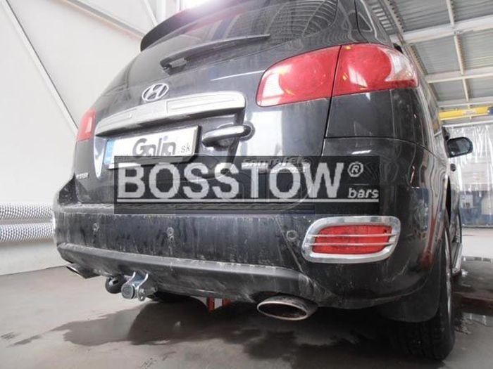 Anhängerkupplung für Hyundai-Santa Fe - 2010-2012 CM Ausf.:  horizontal