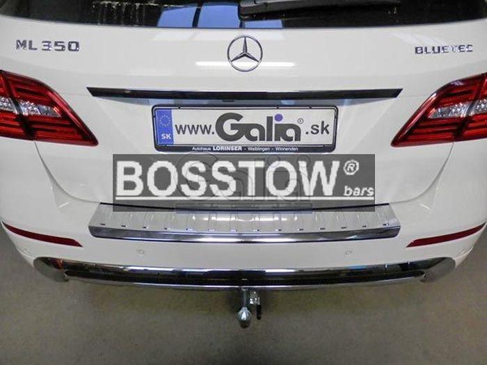 Anhängerkupplung Mercedes-M-Klasse W166, spez. m. AMG Sport o. Styling Paket, Baujahr 2011-