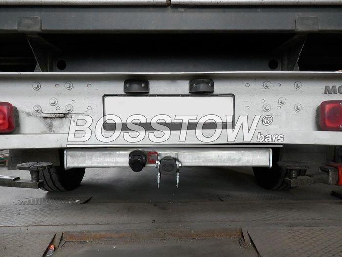 Anhängerkupplung Opel-Movano Pritsche, einzelbereift max. 3,5t, o. Elektrosatz Vorbereitung, Baujahr 2010-2014