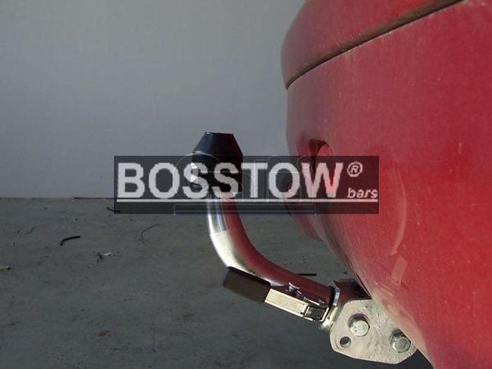 Anhängerkupplung für Peugeot-206+ - 2009- Base Ausf.:  horizontal