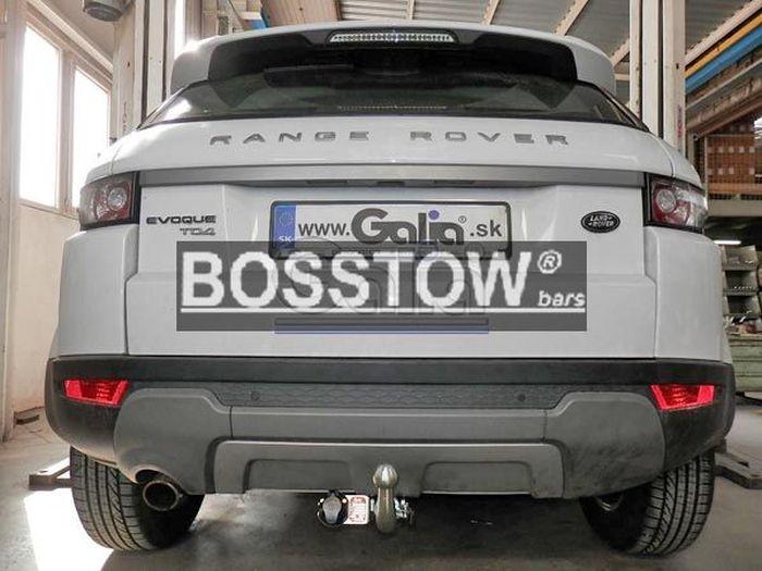Anhängerkupplung Landrover-Range-Rover Evoque, Baujahr 2011- Ausf.:  horizontal