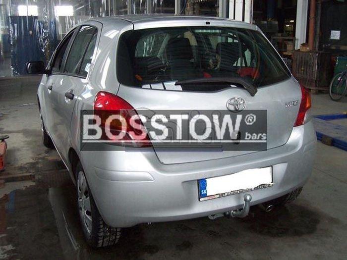 Anhängerkupplung für Toyota-Yaris - 2009-2011 Fließheck, nicht Hybrid Ausf.:  horizontal
