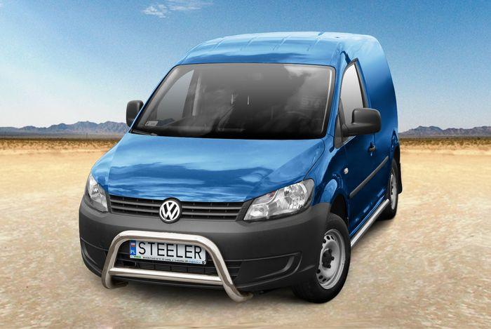 Frontschutzbügel Kuhfänger Bullfänger VW Caddy Maxi 2015-2017, Steelbar Q 70mm