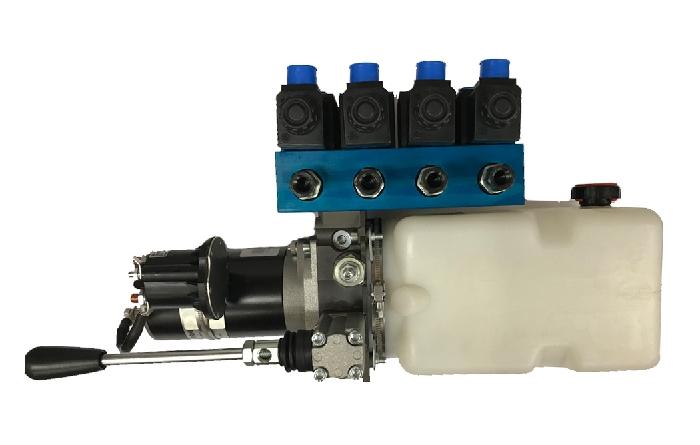 Zubehör Hydraulik: Pumpeneinheit komplett für AMPLO System