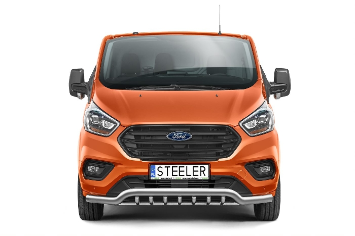 Frontschutzbügel Kuhfänger Bullfänger Ford Transit Custom 2018-, Sportbar UR 70mm