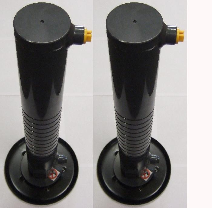 Zubehör Hubstütze: Hydraulische Hubstütze 500/884mm 2er Satz, 3,5t, fix, vertikal-kein Tele für AMPLO System