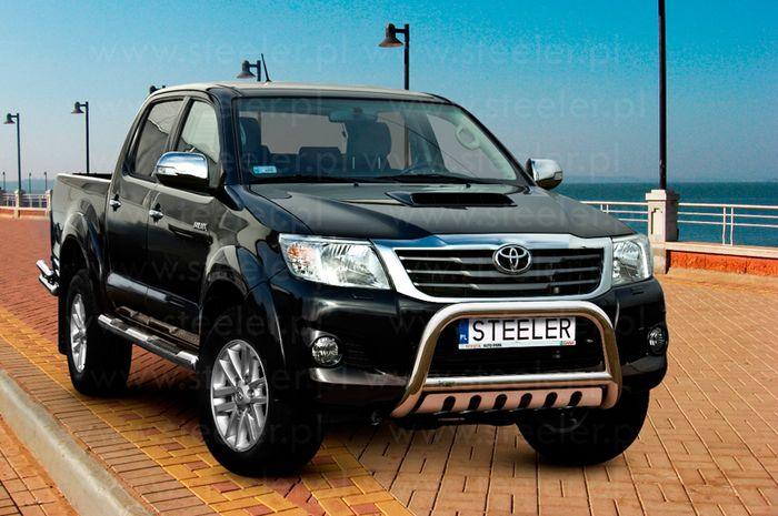 Frontschutzbügel Kuhfänger Bullfänger Toyota Hi-Lux 2011-2015, Steelbar QFU 70mm