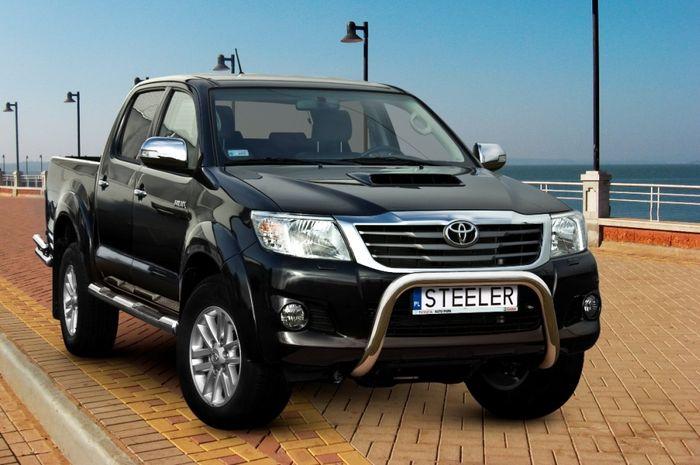 Frontschutzbügel Kuhfänger Bullfänger Toyota Hi-Lux 2006-2011, Steelbar 70mm, schwarz beschichtet