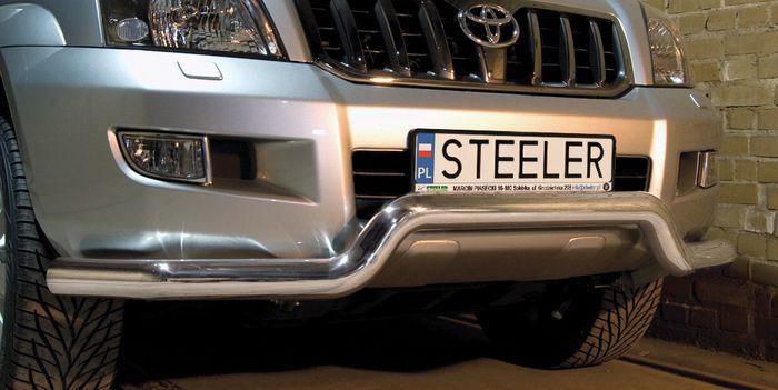 Frontschutzbügel Kuhfänger Bullfänger Toyota Land Cruiser 120/J12 2002-2009, Sportbar 76mm