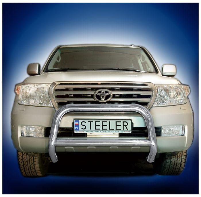 Frontschutzbügel Kuhfänger Bullfänger Toyota Land Cruiser V8/ J20 2008-2012, Steelbar Q 70mm